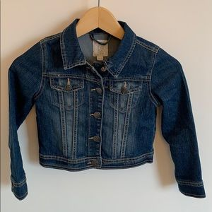 The Children's Place girls jean jacket  small 5/6